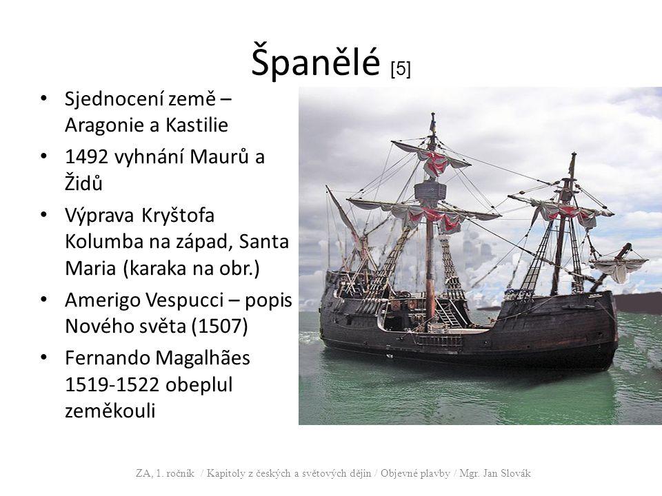 Španělé [5] Sjednocení země – Aragonie a Kastilie